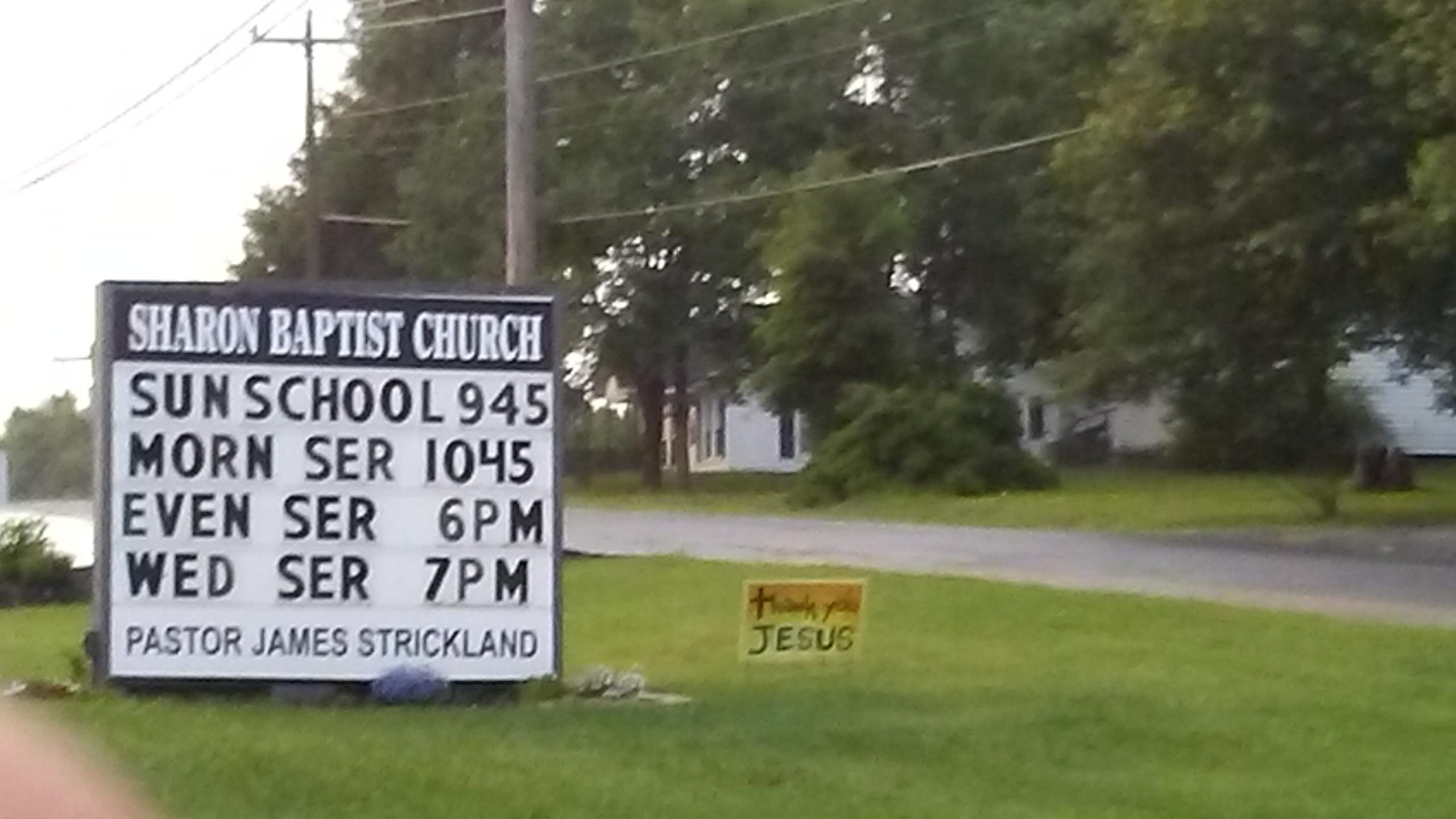 Sharon Baptist Church