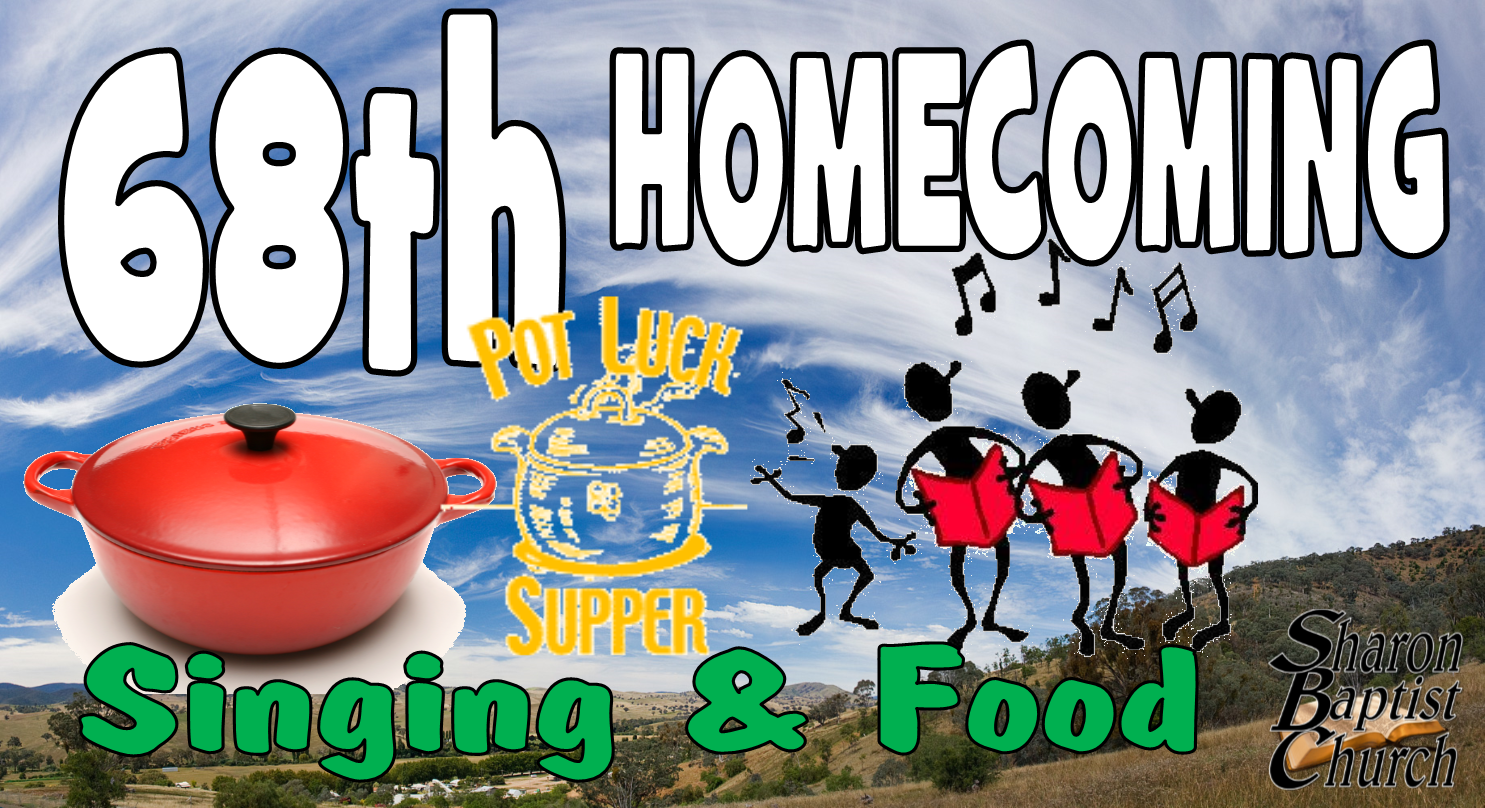 68th Homecoming singing and food