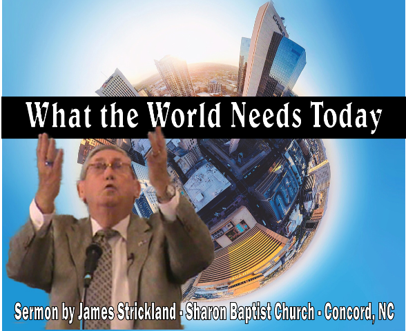 What the world needs today is to see the holiness of God.