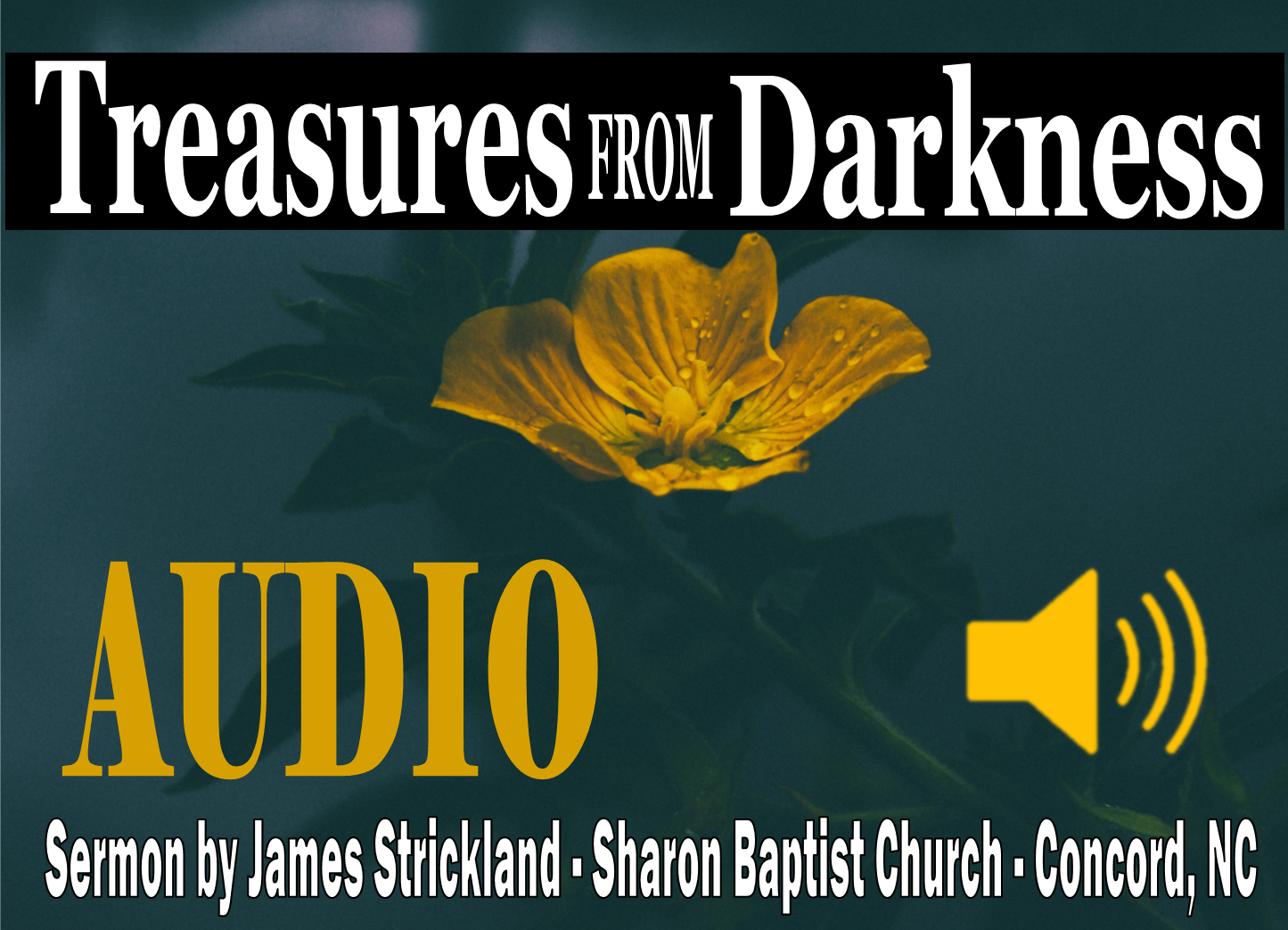 Treasures from Darkness sermon by James Strickland