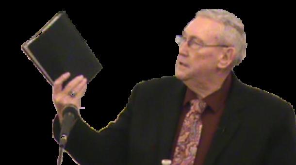 Pastor James Strickland at Sharon Baptist Church
