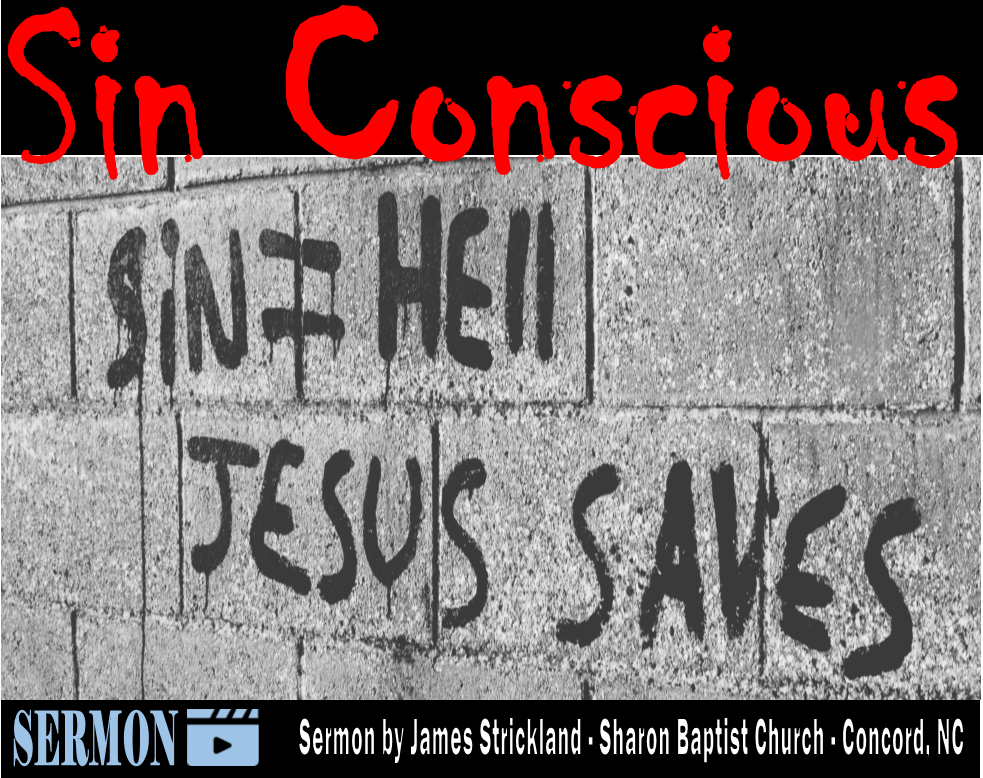 Sin Conscious Sermon by James Strickland