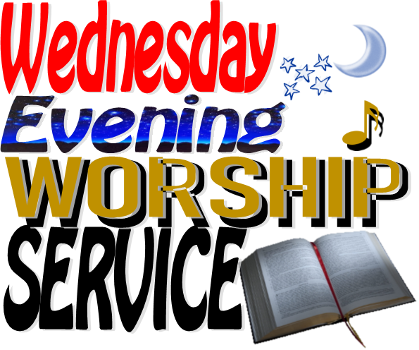 Wednesday Evening Worship Service at Sharon Baptist Church