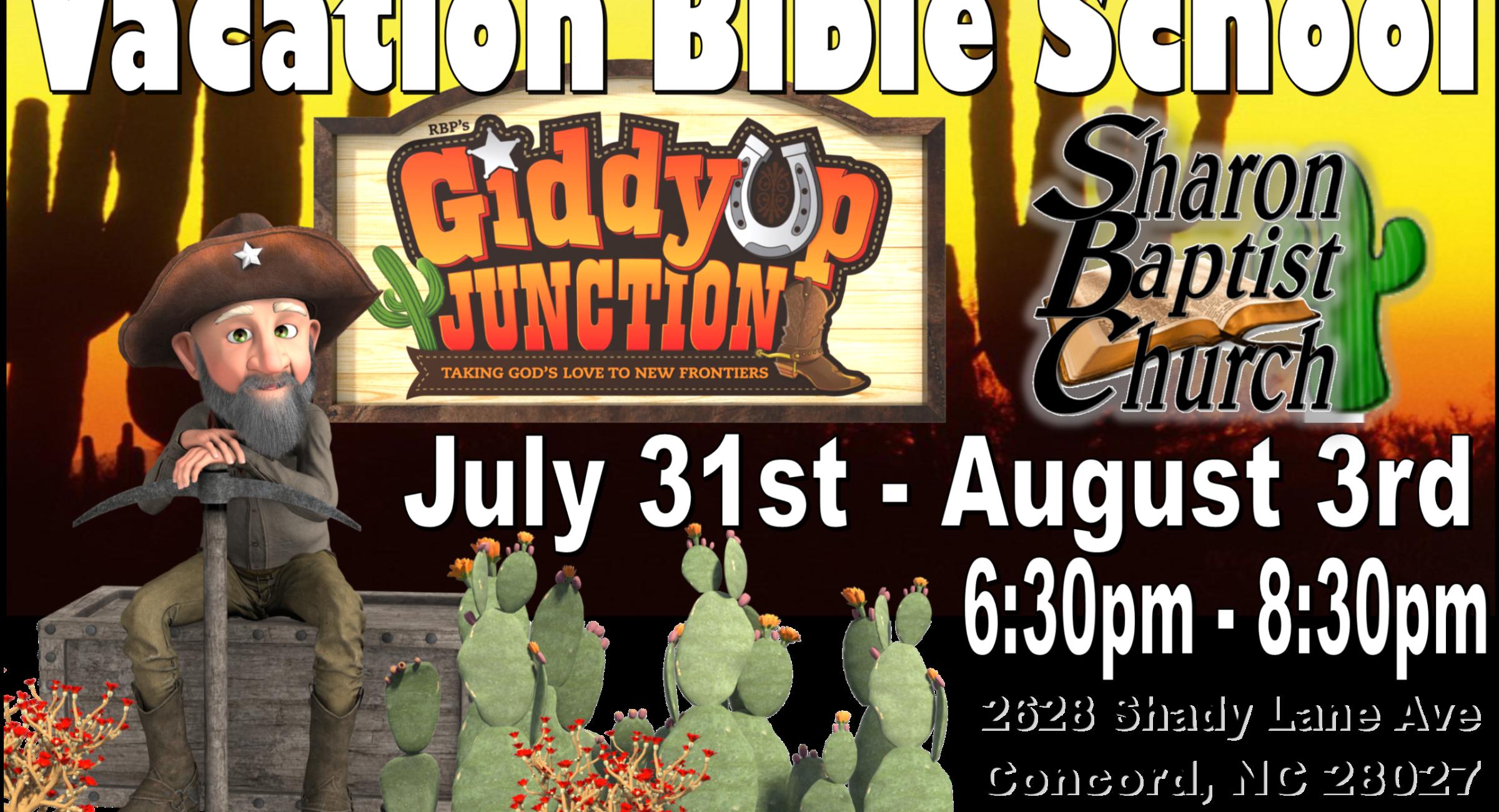 Vacation Bible School 2019 at Sharon Baptist Concord