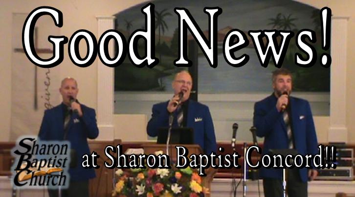 Good News singers at Sharon Baptist Concord