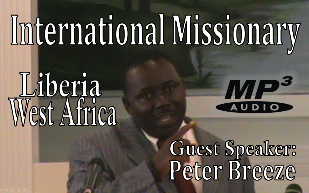 Peter Breeze Missionary MP3