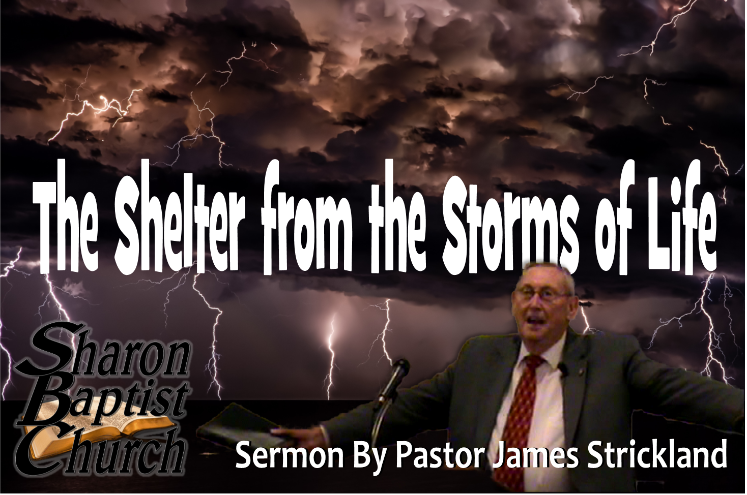The Shelter from the Storms of Life SERMON Art