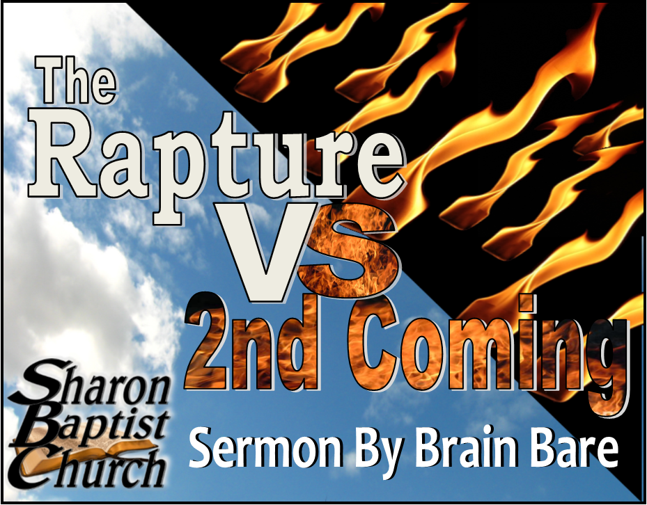 Rapture versus the 2nd Coming - Brain Bare 10-6-19 - YOUTUBE wide C