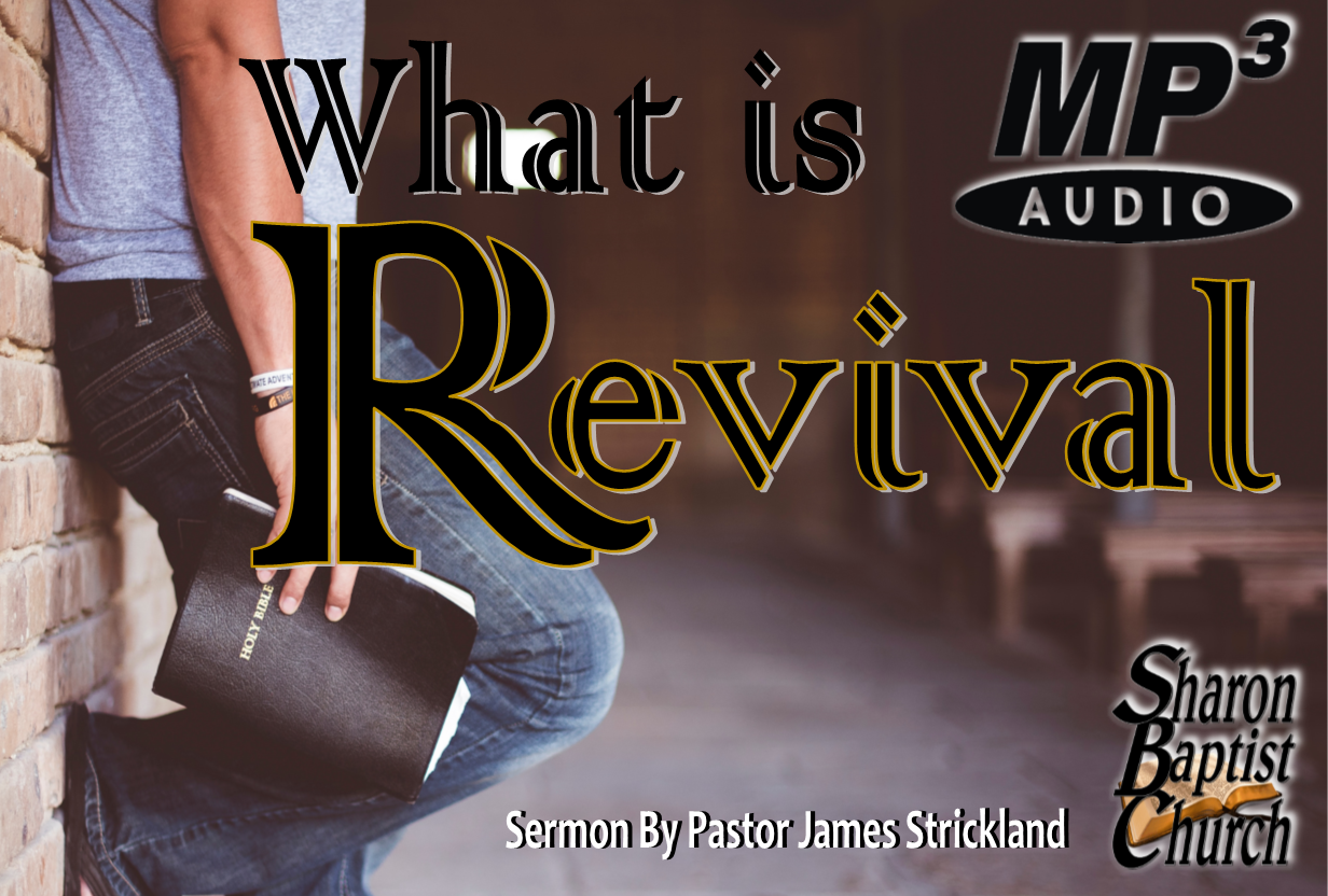What is Revival Sermon - 11-3-19 - AUDIO