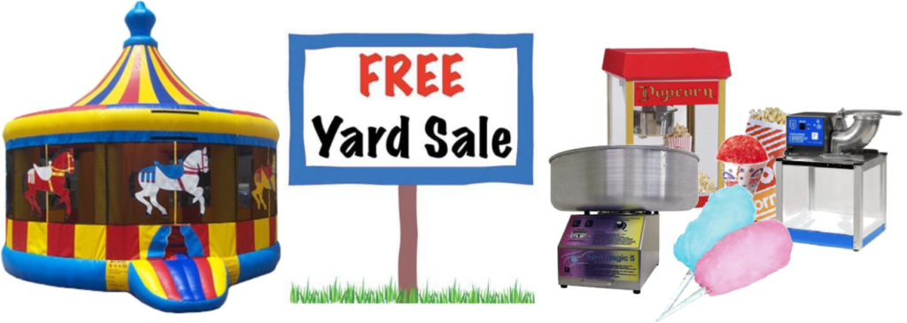 Free Yard Sale and Fall Festival